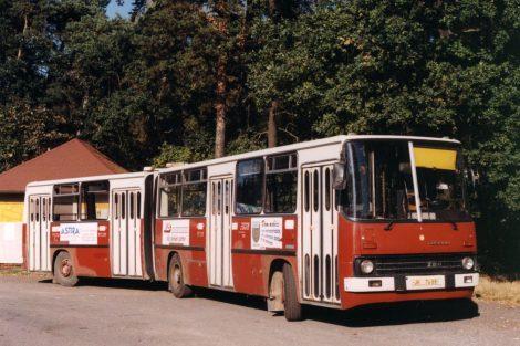 Ikarus 280, první bus ve sbírce. Pramen: Archiv Milana Jiroše