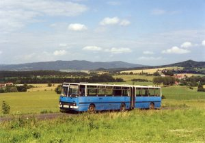 Ikarus 280 z ČSAD Beroun, druhý bus ve sbírce. Pramen: Archiv Milana Jiroše