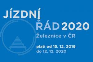 Knižní jízdní řád pro rok 2020 ve stylu deníku Zdopravy.cz. Pramen: Avizer Z, s.r.o.
