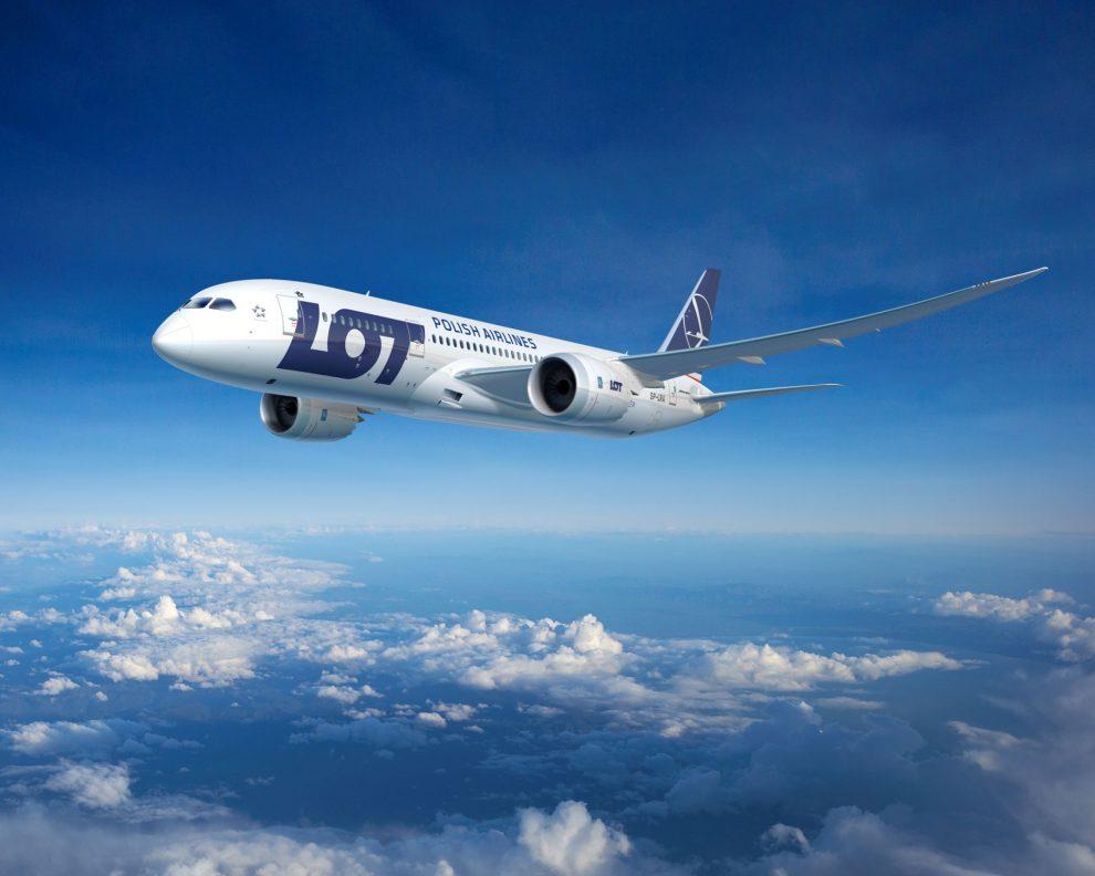 LOT a jejich Boeing 787. Foto: LOT
