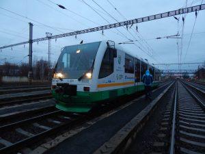 Jednotka Die Länderbahn v Chomutově. Autor: Zdopravy.cz/Jan Šindelář