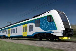 Vizualizace RegioPanteru pro jižní Moravu. Pramen: Škoda Transportation