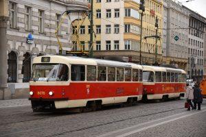 Tramvaj T3M2-DVC u náměstí Republiky. Foto: Michal Chrást