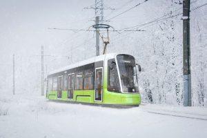 Vizualizace tramvaje Sinara - Škoda- Foto: Škoda Transportation