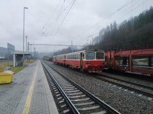 Vlak Leo Expressu. Foto: Michal Pulzer