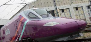 Rychlovlak Talgo 112 v barvách nové značky Avlo. Foto: Renfe