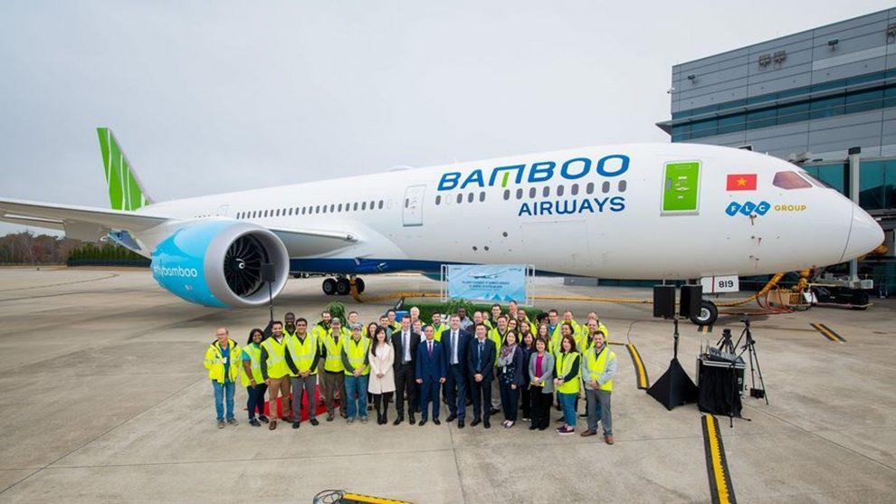 Předání prvního Boeingu 787-9 společnosti Bamboo Airways. Foto: Bamboo Airways