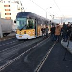 Otevření tramvajové trati na Bory. Foto: PMDP