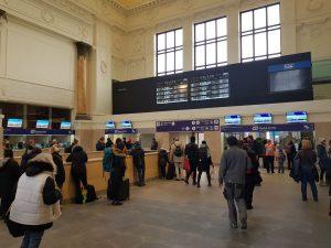 Brno hlavní nádraží. Foto: Jan Sůra