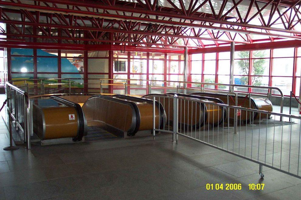 Stanice metra Českomoravská. CC BY-SA 3.0, https://commons.wikimedia.org/w/index.php?curid=674240