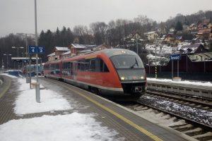 Jednotka Siemens Desiro provozovaná společností Arriva vlaky. Foto: IDOL