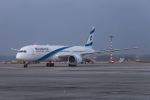 Boeing 787-9 společnosti El Al. Foto: Lukáš Novák