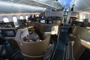 Interiér 787-9 společnosti El Al. Foto: Lukáš Novák