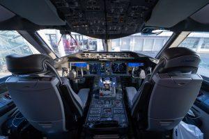 Kokpit 787-9společnosti El Al. Foto: Lukáš Novák