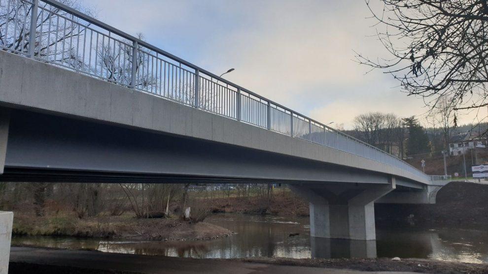 Doubský most na silnici I/20, Karlovy Vary. Pramen: ŘSD