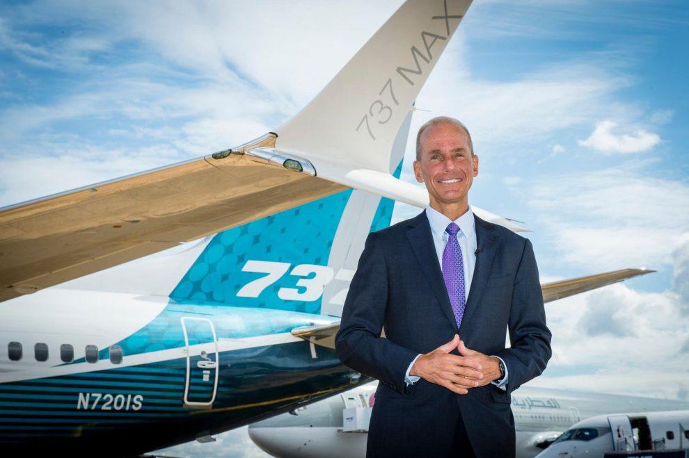 Dennis Muilenburg. Foto: Boeing