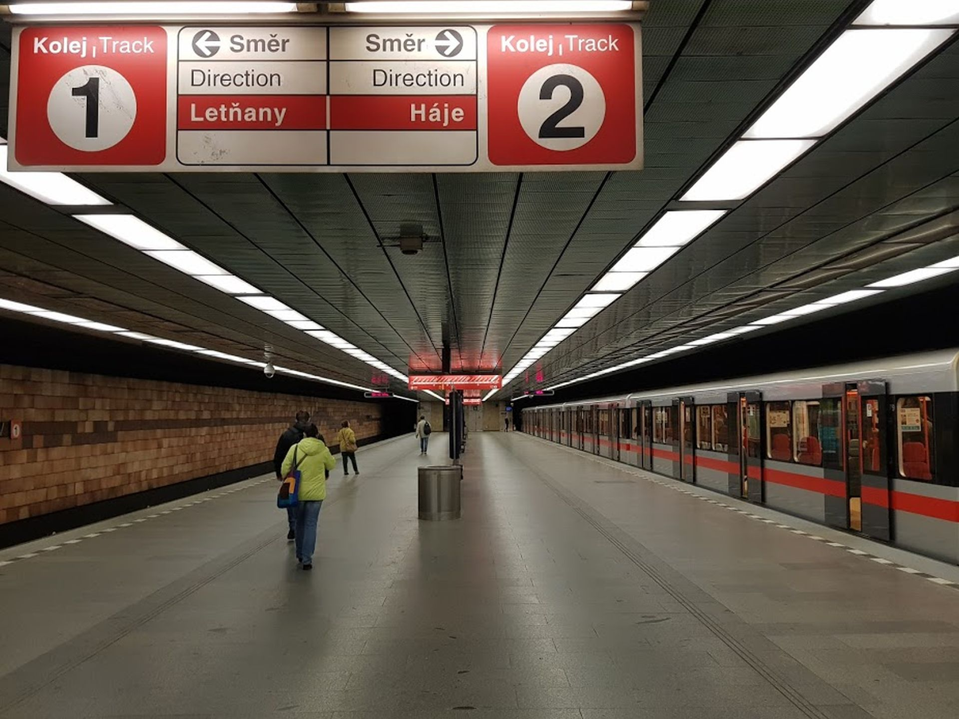 Stanice metra C Opatov. Foto: Jan Sůra
