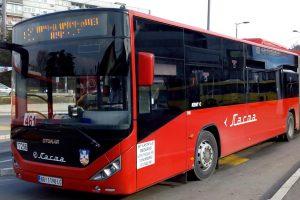 Kloubový autobus Otokar, ilustrační foto. Pramen: DPB