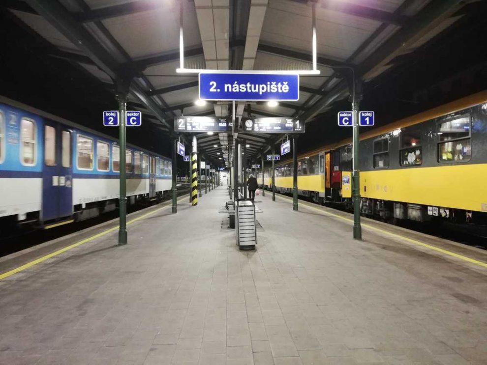 RegioJet a jeho první rychlík na lince R8 z Brna do Bohumína. Foto: Květoslav Havlík