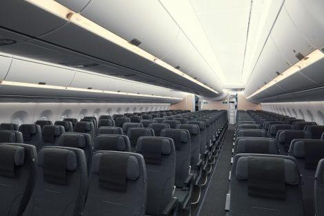 Třída SAS Go (ekonomická) v A350-900. Foto: SAS