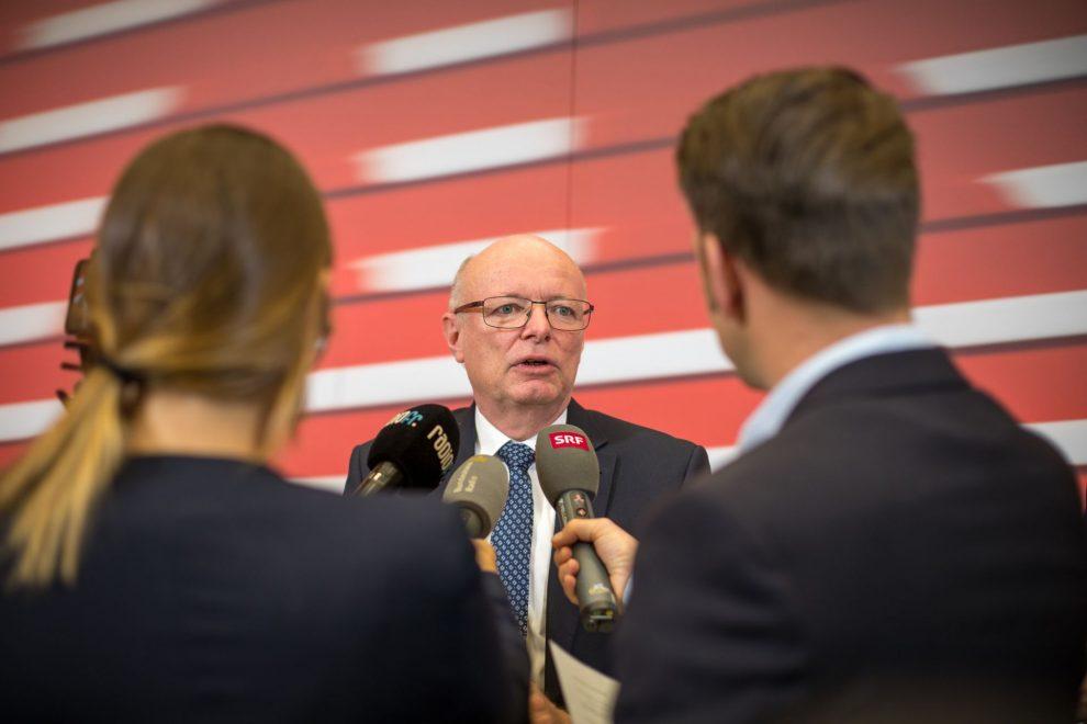 Nový generální ředitel SBB Vincent Ducrot. Foto: SBB