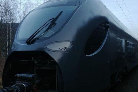 Jednotka Leo Express Sirius v Bad Schandau.