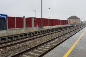 Nová zastávka Plzeň-Skvrňany. Autor: Swietelsky Rail