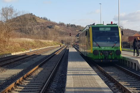 Stanice Třebívlice. Foto: Jan Sůra
