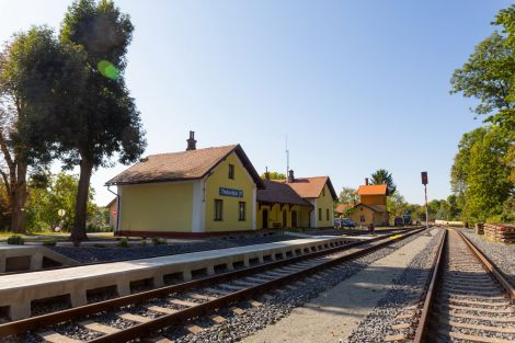 Stanice Třebívlice. Foto: Petr Dobiašovský / AŽD Praha