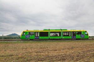 Jednotka RS1 na Švestkové dráze. Foto: Petr Dobiašovský / AŽD Praha