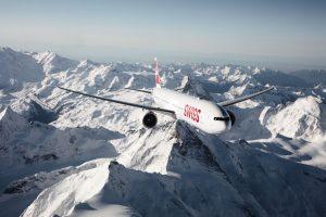 Boeing 777-300ER společnosti Swiss. Foto: Swiss