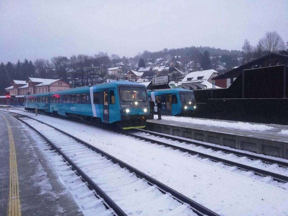 Jednotky 845 v Tanvaldě.