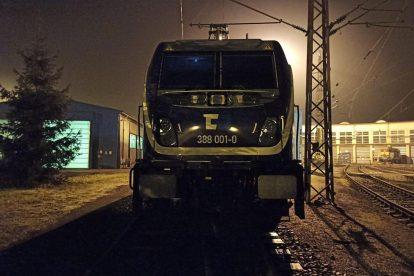 TRAXX MS3 v ústeckém depu ČD Cargo. Foto: ČD Cargo
