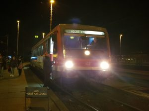 Jednotka 628 Arriva vlaky ve Vsetíně