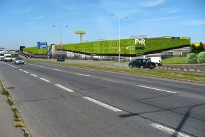 Vizualizace parkoviště P+R na Černém Mostě. Foto: Obermeyer Helika