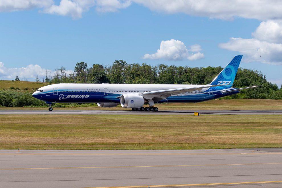 Boeing 777-9. Foto: Boeing