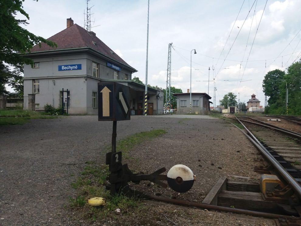 Nádraží Bechyně. Autor: Zdopravy.cz/Jan Šindelář