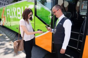 FlixBus, odbavení cestující, ilustrační foto. Pramen: FlixBus