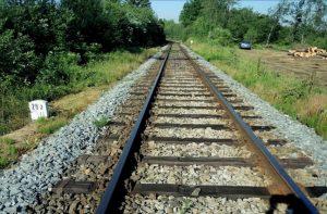 Trať Velké Meziříčí - Křižanov, místo, odkud se vlak rozjel bez strojvedoucího. Autor: Drážní inspekce