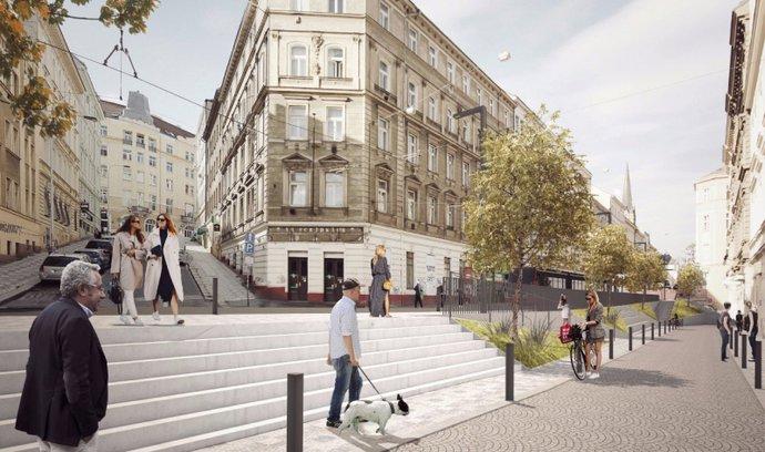 Možná budoucí podoba Seifertovy ulice. Pramen: IPR