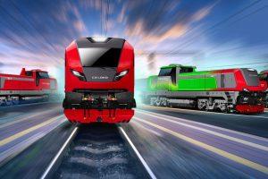Vizualizace nového konceptu lokomotiv z CZ LOKO. Foto: CZ LOKO