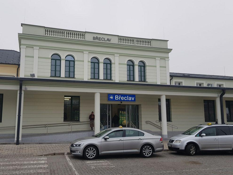 Výpravní budova v Břeclav po rekonstrukci. Foto: Jan Sůra