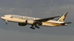 Boeing 777-200 společnosti Singapore Airlines. Foto: Singapore Airlines