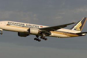 Boeing 777-200 společnosti Singapore Airlines. Foto: Singapore Airlines