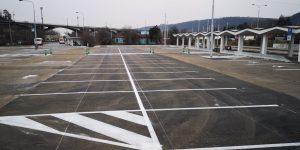 P+R parkoviště v Braníku. Foto: TSK Praha
