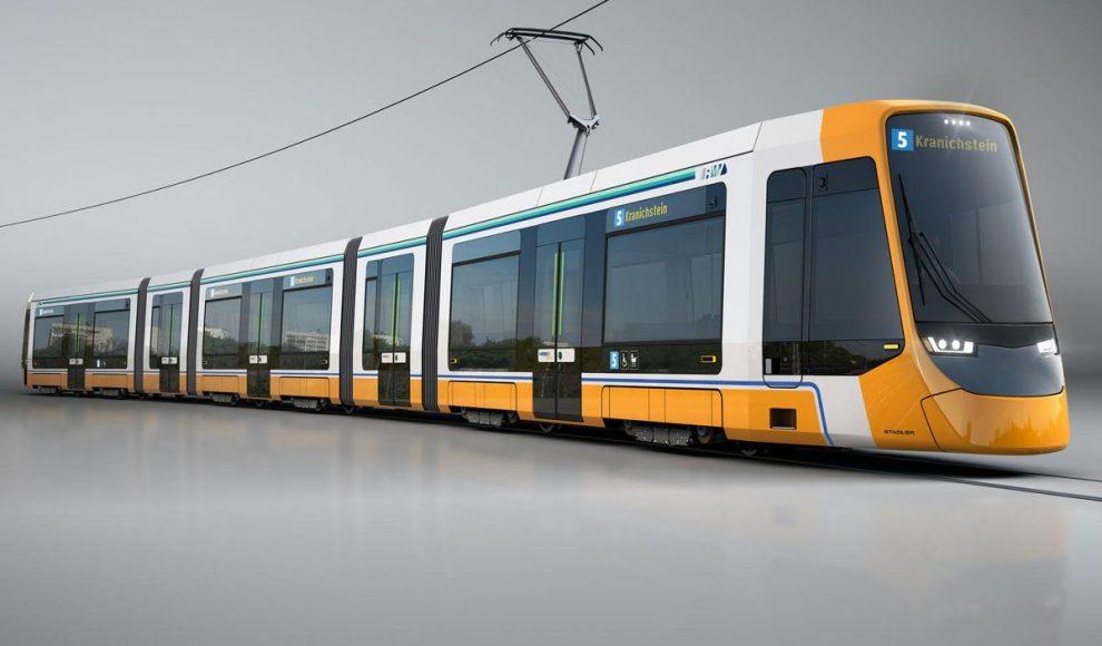 Nové tramvaje od Stadleru pro Darmstadt. Foto: Stadler
