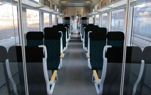 Vizualizace interiéru Siemens Desiro pro Trilex po modernizaci. Foto: Die Länderbahn
