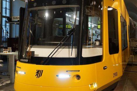 Model nové tramvaje pro Drážďany. Foto: FB saského ministerstva hospodářství, práce a dopravy