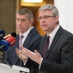 Ministr dopravy Karel Havlíček (vpravo) a Andrej Babiš. Foto: Ministerstvo dopravy