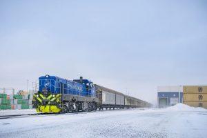 Finská FenniaRal lokomotivy EffiShunter 1600 provozuje i v extrémních podmínkách hluboko pod bodem mrazu, Foto: CZ LOKO